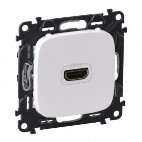 754715 Розетка HDMI Тип А Legrand Valena Allure Белый