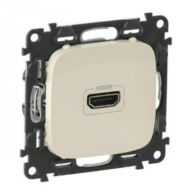 754716 Розетка HDMI Тип А Legrand Valena Allure Слоновая кость