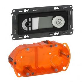 755408 Встроенное радио с mini-jack Legrand IN'MATIC Антрацит