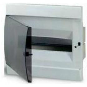 1SL0511A00 Бокс встраеваемый 12 модулей(Unibox) с дымчатой дверью IP41 без клемм