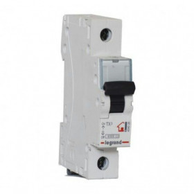 """404025 Автоматический выключатель 1-полюс 6A хар """"С"""" 6кА (TX3)"""