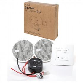 52605 KBSound In-Wall Bluetooth 2,5 Встраиваемый в стену приемник и 2 колонки 2,5 Белый