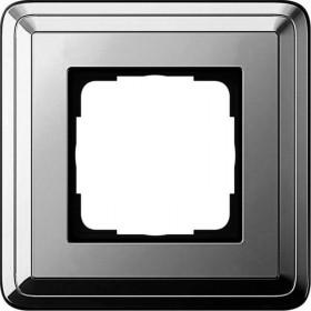 Рамка 1-ая Gira ClassiX Хром 211641 IP20