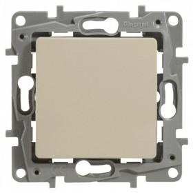 672300 Выключатель одноклавишный IP44 скрытой установки переключатель с 2-х мест Legrand Etika Слоновая кость