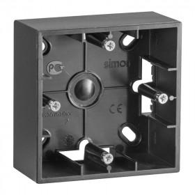Коробка для наружного монтажа 1 пост Simon 15 Графит 1590751-038