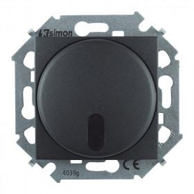 1591713-038 Диммер для любого ИК пульта с 2-х мест 20-500Вт Simon 15 Графит