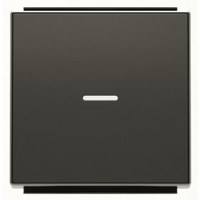 2CLA850130A1501 Клавиша с подсветкой ABB Niessen SKY Чёрный бархат