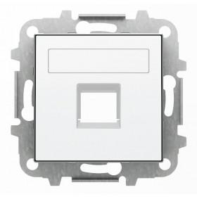 2CLA851810A1101 Накладка розетки тел/комп ABB Niessen SKY Альпийский Белый