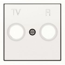 2CLA855000A1101 Накладка розетки телевизионной TV-R ABB Niessen SKY Альпийский Белый