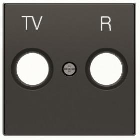 2CLA855000A1501 Накладка розетки телевизионной TV-R ABB Niessen SKY Чёрный бархат