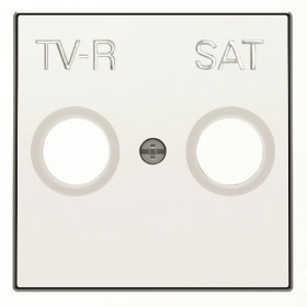 2CLA855010A1101 Накладка розетки телевизионной TV-R-SAT ABB Niessen SKY Альпийский Белый