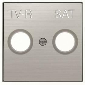 2CLA855010A1301 Накладка розетки телевизионной TV-R-SAT ABB Niessen SKY Серебристый Алюминий