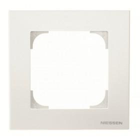2CLA857100A1101 Рамка 1-ая SKY подложка серая Альпийский белый