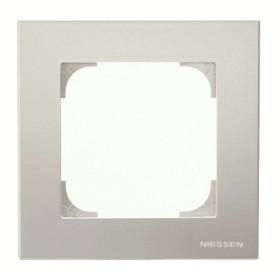2CLA857100A1301 Рамка 1-ая SKY Серебристый Алюминий