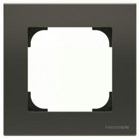 2CLA857100A1501 Рамка 1-ая SKY Чёрный бархат