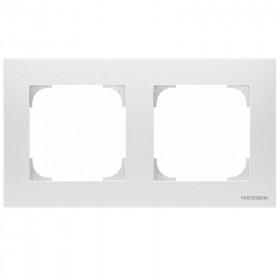 2CLA857200A1101 Рамка 2-ая SKY подложка серая Альпийский белый