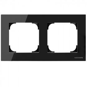 2CLA857200A3101 Рамка 2-ая SKY Стекло Чёрное