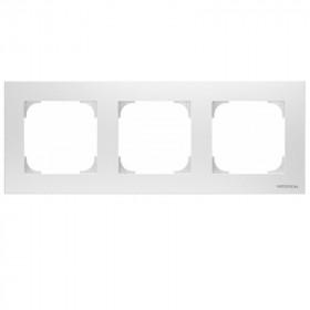 2CLA857300A1101 Рамка 3-ая SKY подложка серая Альпийский белый