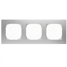 2CLA857300A1301 Рамка 3-ая SKY Серебристый Алюминий