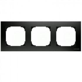 2CLA857300A1501 Рамка 3-ая SKY Чёрный бархат