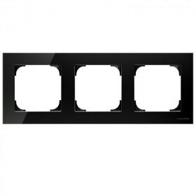 2CLA857300A3101 Рамка 3-ая SKY Стекло Чёрное