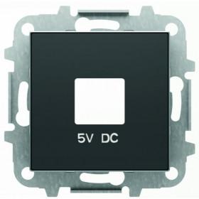 2CLA858500A1501 Накладка розетки USB-зарядки ABB Niessen SKY Чёрный бархат