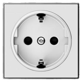 2CLA858800A2101 Накладка розетки электрической ABB Niessen SKY Стекло Белое