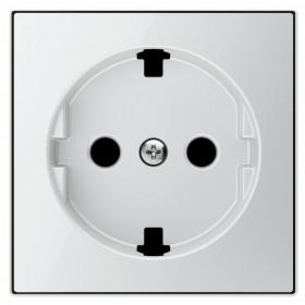 Накладка ABB SKY Стекло белое 2CLA858890A2101