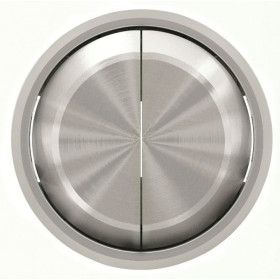 2CLA861100A1401 Клавиша двойная SKY Moon кольцо Хром