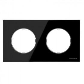 2CLA867200A3101 Рамка 2-ая SKY Moon Стекло Чёрное