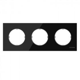 2CLA867300A3101 Рамка 3-ая SKY Moon Стекло Чёрное