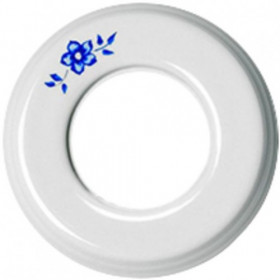 Рамка 1-ая Fontini Colonial Фарфор с рисунком 31801112 IP20