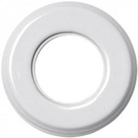 Рамка 1-ая Fontini Colonial Фарфор белый 31801172 IP20
