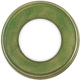 Рамка 1-ая Fontini Colonial Желто-зеленый 31801332 IP20
