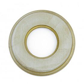Рамка 1-ая Fontini Colonial Серо-золотой 31801362 IP20