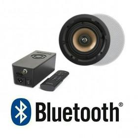 Встраиваемое радио Repellent Artsound Crazy-Pack Hyde с Bluetooth и динамики HPRO525 круглые