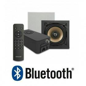 Встраиваемое радио с Bluetooth Repellent Artsound Crazy-Pack Hyde и динамики HPSQ525 квадратные