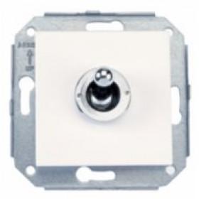 Механизм выключателя Fontini Белый ручка Хром 67308262 IP20 1-клавишный с 2-х мест