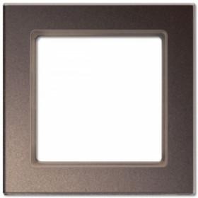 Рамка 1-ая Jung А сreation Мокка AC581GLMO IP20