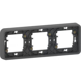 MUR34109 Рамка 3-я Mureva Styl IP55 Schneider Electric Антрацит