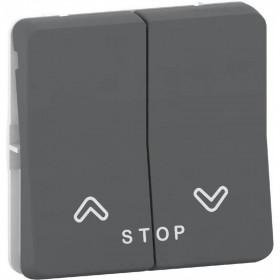 MUR35042 Механизм кнопки для управления жалюзи Mureva Styl IP55 Schneider Electric Антрацит