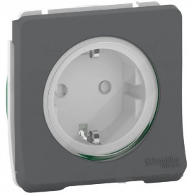 MUR36135 Механизм Розетки IP55 Mureva Styl Schneider Electric Антрацит