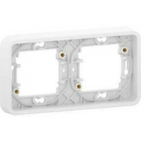 MUR39101 Рамка 2-я Mureva Styl IP55 Schneider Electric Белый