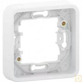MUR39107 Рамка 1-я Mureva Styl IP55 Schneider Electric Белый