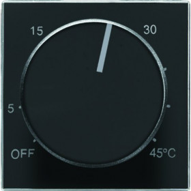 2CLA854090A1501 Накладка терморегулятора ABB Niessen SKY Чёрный бархат