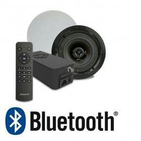 Встраиваемое радио Ultra Flat Artsound Crazy-Pack Hyde с Bluetooth и динамики FL501 круглые