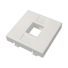 DR-5301 Datarex Вставка адаптер Mosaic 45х45 мм для модуля Keystone 1 порт Белый