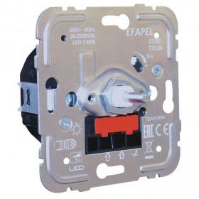 21216 Диммер 20-250Вт с 2-х мест для нагрузок R и L, LED и энергосберегающих ламп Efapel