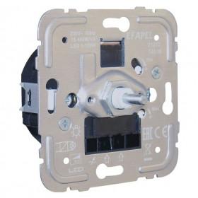 21217 Диммер 20-250Вт с 2-х мест для нагрузок R и C, LED и энергосберегающих ламп Efapel