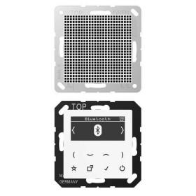 DABA1BTWW Встраиваемое радио с Bluetooth и динамик Jung программа А стекло Белое